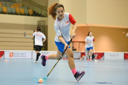 Floorballers unfazed by back-to-back tournaments