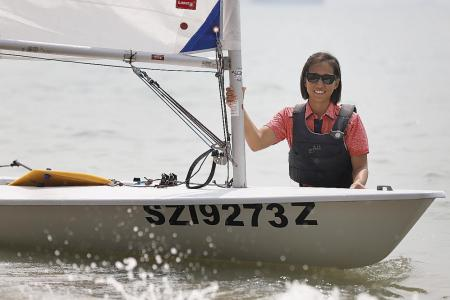 Sailor Victoria Chan's comeback goal: To qualify for Olympics