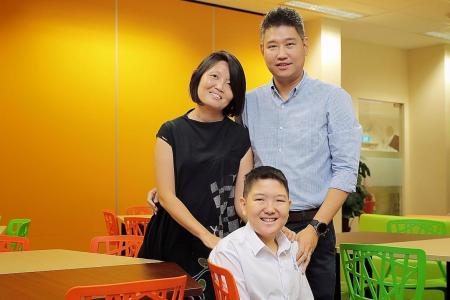 Pupils collect PSLE results after overcoming hardships