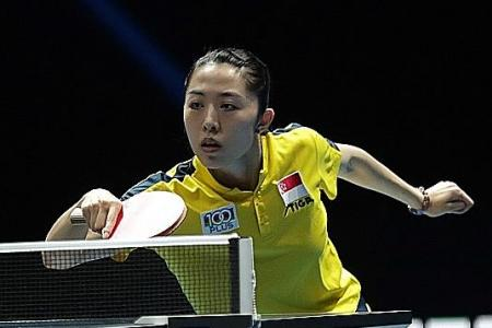 Singapore's Yu Mengyu and Clarence Chew bow out after tough battles