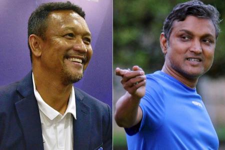 Laos coach Sundram ahead of SEA Games opener: Pressure's on Singapore
