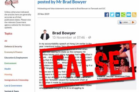Opposition member told to correct FB post as Govt uses fake news law
