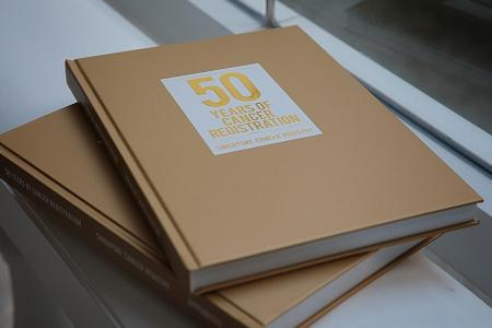 Book tracing 50 years of cancer trends launched