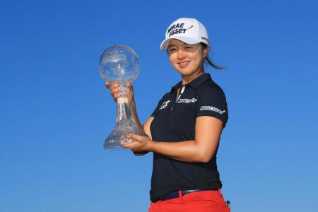 Kim Sei Young claims richest prize of S$2m in women's golf
