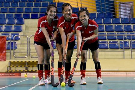 Lim sisters aiming to shine at SEA Games indoor hockey competition