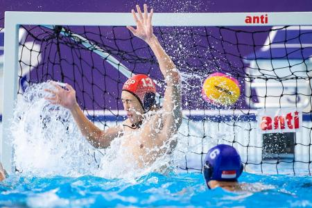 Historic loss for Singapore water polo team