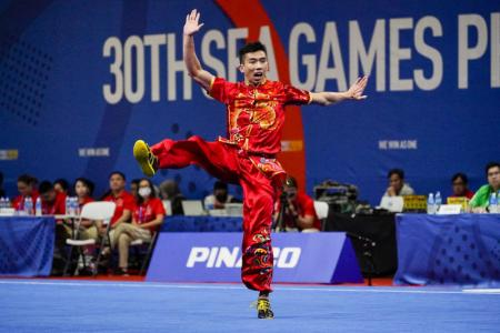 Yong wins Singapore's first gold at 30th SEA Games
