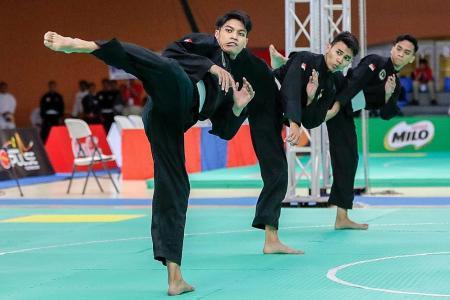 Sick of bronzes, Singapore silat team finally strike gold