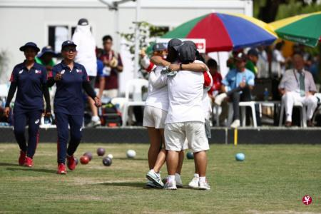 Singapore's lawn bowlers clinch SEA Games gold