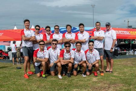 Double delight for Singapore's underwater hockey teams