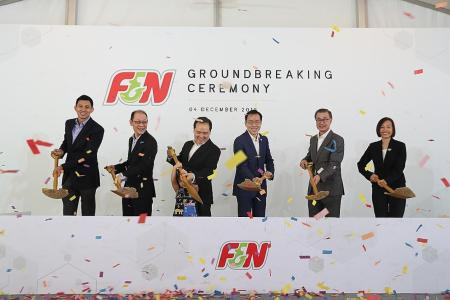F&N builds $80 million smart facility in Tuas