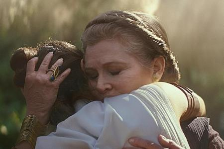 Late Carrie Fisher has key role in Rise Of Skywalker