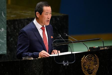 N. Korea warns UN against discussing country's human rights situation