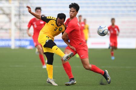 Singapore find scoring touch in final match against Brunei