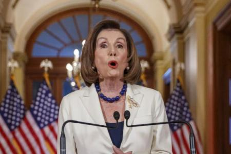 Trump's impeachment fight gets real after Pelosi's announcement