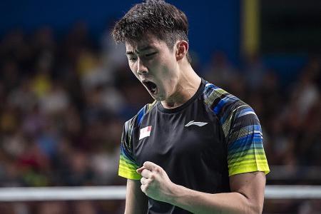 Shuttler Loh Kean Yew faces Lee Zii Jia in today's men's singles final