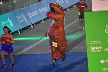 I apologise for being part of the Standard Chartered marathon