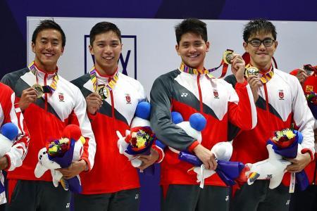 Singapore's swimming future is bright