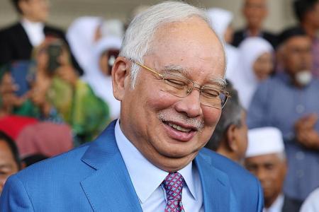 Najib spent $177k on watch, $41k on hotel stay