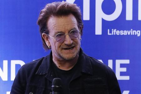 Bono to Duterte: You can't compromise on human rights