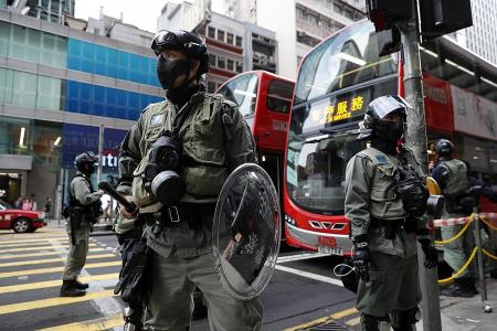 HK police defuse two nail bombs in school