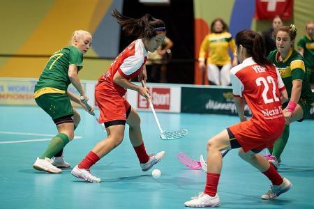 Singapore achieve historic feat at Women's World Floorball C'ship