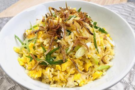 Egg fried rice is a simple, satisfying one-dish meal