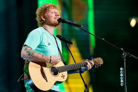 Ed Sheeran crowned UK's top artist of the decade