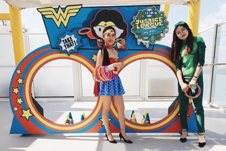 Set sail with DC superheroes, Genting Dream on Justice League cruise