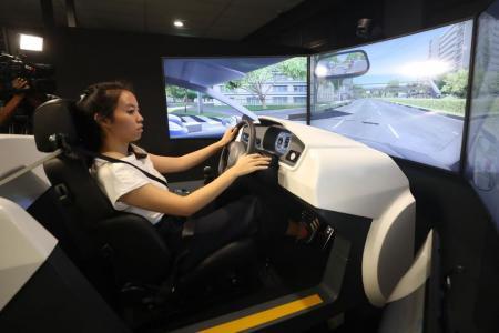 Learner motorists to undergo compulsory simulator training