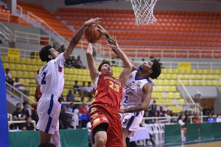 Singapore Slingers slip in opening game against Alab Pilipinas