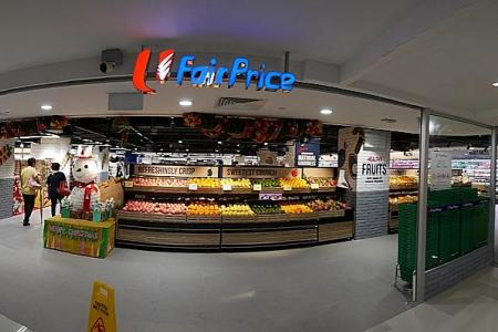FairPrice Woodlands Civic Centre reopens as fresh new concept store