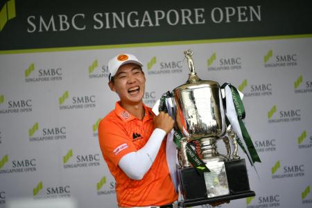 Jazz hoping for an encore at SMBC Singapore Open