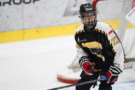 S'pore ice hockey youth hopes Winter YOG will help him realise dream