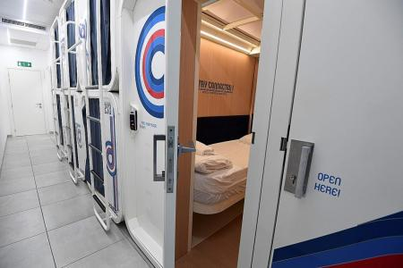Capsule hotel Ostelzzz pops up in Milan amid tourist boom