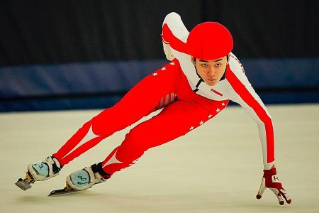 Speed skater Trevor to take another gap year to achieve Olympic dream