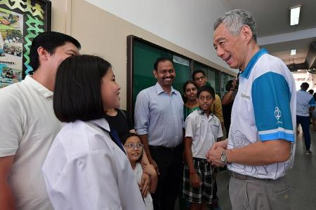 Education system designed to bring out best in each student: PM Lee