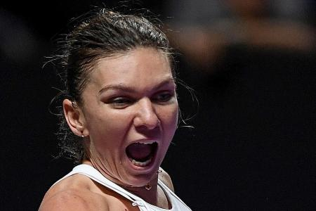 Simona Halep comes up with a sound way to raise funds for fire victims