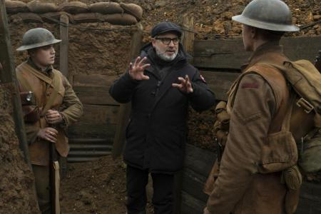 Mendes: Shooting one-take 1917 was a 'holiday' compared to Bond films