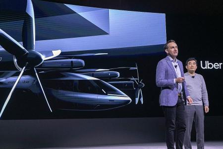 Uber partners Hyundai to develop flying taxi