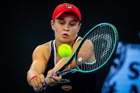 World No. 1 Barty not bothered despite early exit at Brisbane Int'l