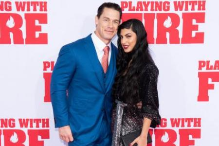 John Cena shows off emo side in Playing With Fire