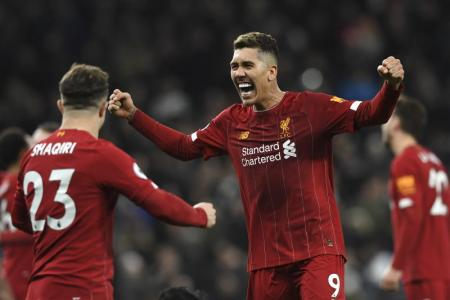 Liverpool fans react to Firmino goal against Tottenham