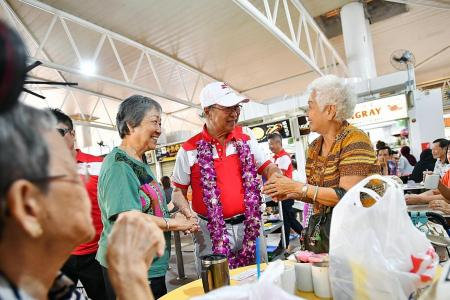 Tan Cheng Bock 'goes home',  may contest in West Coast area