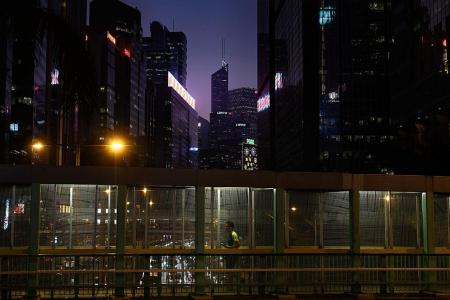 HK leader says financial hub's strengths intact despite protests