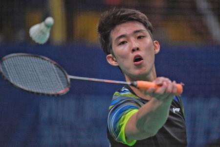 Loh Kean Yew stays patient to defeat world No. 10 Kanta Tsuneyama
