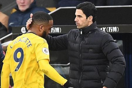 Arsenal manager Mikel Arteta: Goals best medicine for Lacazette