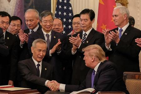 Trade deal won't do much to heal US-China rifts: Experts