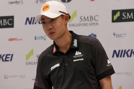 SMBC Open title-holder Jazz 2 strokes behind surprise leader Hamamoto