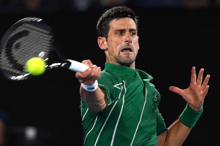 Novak Djokovic survives scare at Australian Open